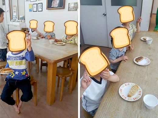 子供も大好きな美味しいトースト