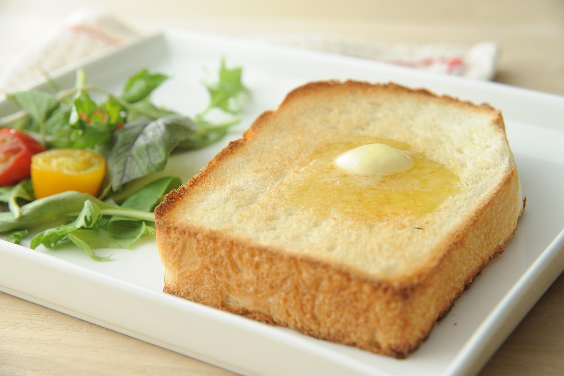 ブライブォリーのトースト